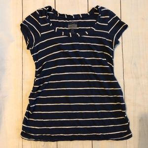 Old navy striped maternity shirt